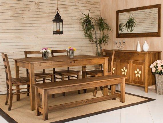 Cadeira de estilo r stico cadeira de madeira for Sala de estar estilo rustico